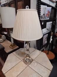 Brass And Crystal Table Lamps Fine Decorative Crafts Inc Brass And Crystal Table Lamp Astute
