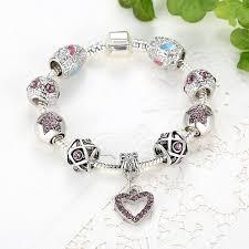 silver bead bracelet diy images Beaded charm bracelet tutorial the best of 2018 jpg