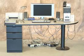 how to cable manage a desk cable management lewis center columbus caretta workspace