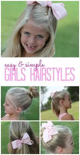 how to keep women hairstyle simple and neat best 25 easy little girl hairstyles ideas on pinterest easy kid