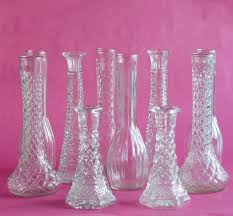Cut Crystal Vases Antique Antique Smooth Crystal Cut Glass Vase Value Holder Reduce Glass
