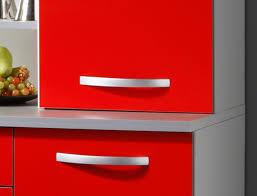 Wohnzimmerschrank Rot Küchenschrank Seamus 2 120x181x44 Weiß Rot Grau Schrank