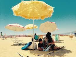 santa monica public library beach