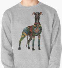 levrette sur canapé levrette dessin sweatshirts et sweats à capuche redbubble