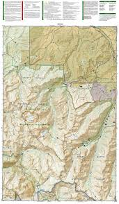 Snowmass Colorado Map by Maroon Bells Redstone Marble National Geographic Trails