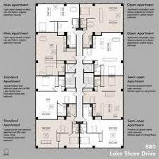 Delighful Apartment Floor Plans Designs Studio Ideas On Pinterest - Apartments plans designs