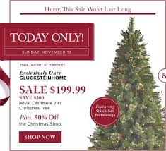 thebay com today only 60 off royal cashmere 7 ft christmas