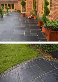 Paving Stone Designs For Patios Best 25 Stone Patio Designs Ideas On Pinterest Paver Patio