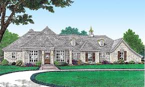 french country mansion single level french country house plan 48501fm architectural