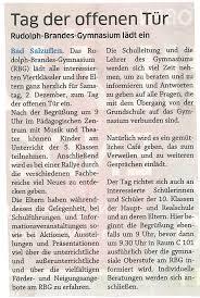 Plz Bad Salzuflen Rudolph Brandes Gymnasium U2013 Rbg