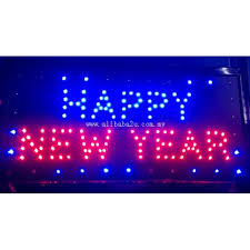 led new years led sign board happy new year