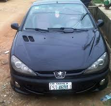 peugeot 206 2008 already sold clean nigerian 2008 convertible peugeot 206 cc