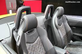 siege audi tt 2014 audi tts roadster 4legend com audipassion com
