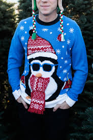 ugly christmas sweaters and reindeer beanies marblelously petite