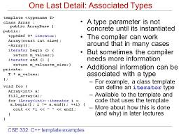 cse 332 c template examples concepts and models templates