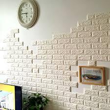 5 rolls 3d brick pattern wallpaper bedroom living room modern