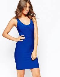 bcbg maxazria bcbg maxazria caspar bodycon knit dress in blue