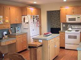 oak cabinets with granite kitchen paint colors with red oak