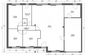plan de maison 3 chambres salon plan et photos maison 3 chambres de 88 m