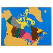 map of canada puzzle geography kasea international co limited