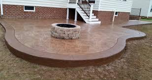 Average Price For Concrete Patio Concrete Driveway U0026 Patio Of Virginia Beach Contractors