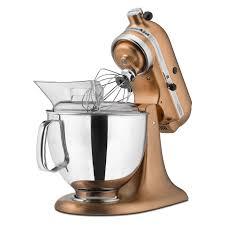 kitchen aid kitchenaid ksm152pscp custom metallic series stand mixer satin