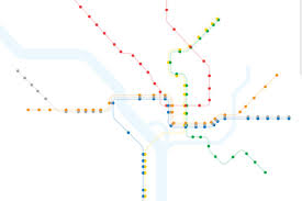 Metro In Dc Map by Here U0027s What The D C Metro Map Looks Like With Just Accessible