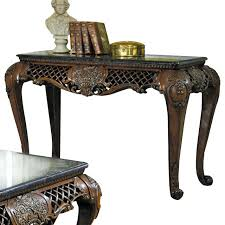 Wrought Iron Sofa Tables by Marble Top Sofa Table Faux Marble Top Coffee Table Sofa Helena