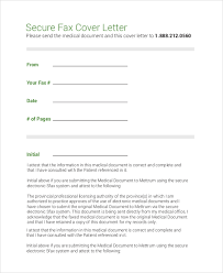 cover letter format for fax sle fax cover letter 7 documents in pdf word