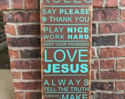 christian rules etsy