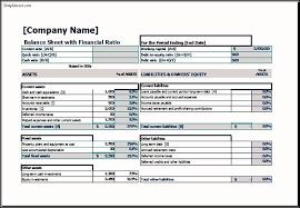 balance sheet excel template aiyin template source
