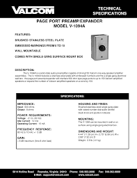 download free pdf for valcom v1094a amp manual