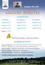 cours de cuisine macon les cours de cuisine démarrent le 24 septembre passer à vous
