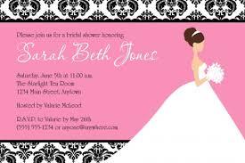 custom bridal shower invitations custom bridal shower invitations