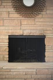 Fireplace Chain Screens - mid century fireplace screen restoration suburban pop