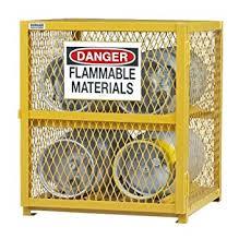 Yellow Metal Storage Cabinet Durham Steel Iron Horizontal Cylinder Storage Cabinet Egcc4 50 4