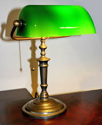 bankers table lamp green with 25 methods to make your home