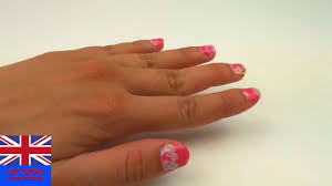 diy nail design tape tutorial nail design with washi tape easy