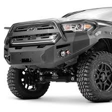 toyota tacoma front bumper guard fab fours toyota tacoma 2016 2017 premium width front