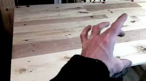 wood king size headboard king size headboard pallet project youtube