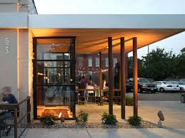 east entry building exterior design of steubens restaurant denver