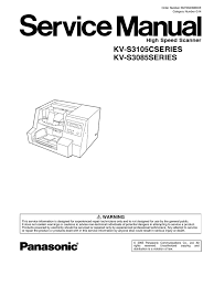 service manual incl parts kv s3105c kv s3085 belt mechanical