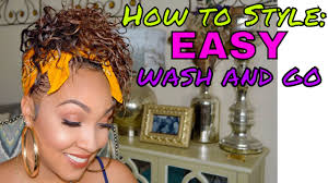 3c hair shape how to style your wash n go transitioning hair 3b 3c youtube