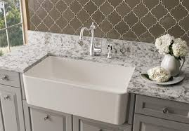 Blanco Meridian Semi Professional Kitchen Faucet by Blanco Blanco Cerana Apron Front 33