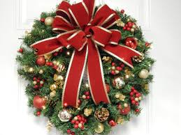 wreath artificial wreath lighted wreath