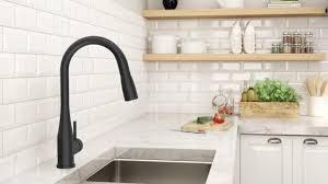 symmons kitchen faucets matte black kitchen faucet decoration hsubili com matt black
