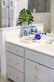 best paint for oak bathroom cabinets painting our oak bathroom vanity southern style a