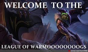 League Of Draven Meme - chillout warmogs