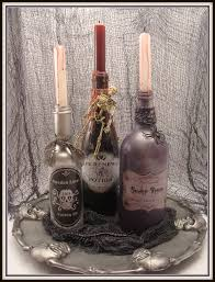 crafty in crosby spooky potion bottles and dollar store tray