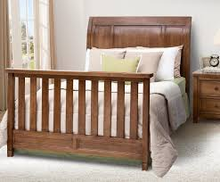 simmons kids kingsley full size bed conversion kit chestnut